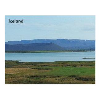 Mývatn, Iceland Postcard