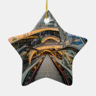 MyZeil Shopping Mall Frankfurt Ceramic Ornament