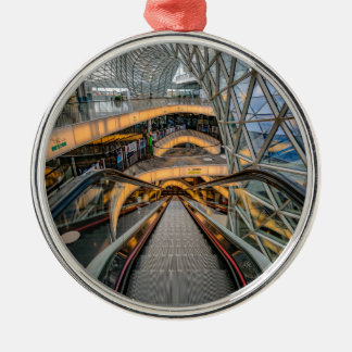 MyZeil Shopping Mall Frankfurt Metal Ornament