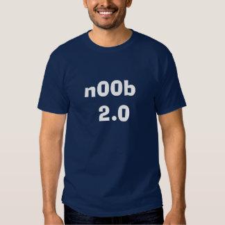 n00b 2.0 tee shirts
