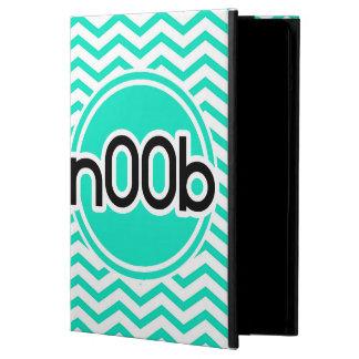 n00b Aqua Green Chevron Case For iPad Air