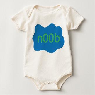 """""""n00b"""" boy baby bodysuit"""