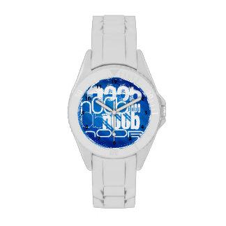 n00b; Royal Blue Stripes Watches