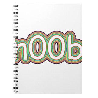 n00b spiral note books