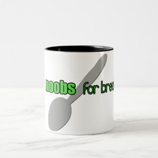 N00bs for Breakfast Mug