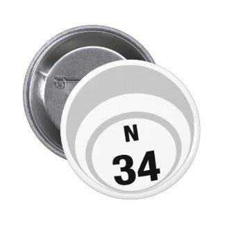 N34 Bingo Ball button