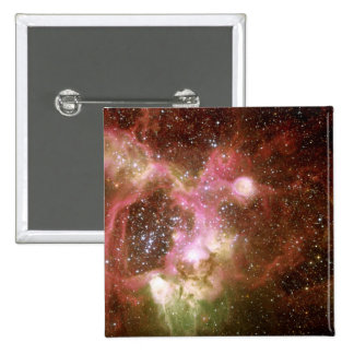 N44 Emission Nebula Button