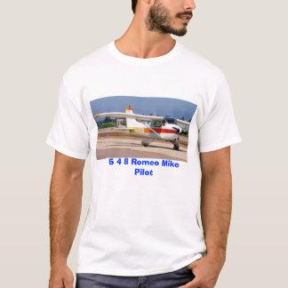 N548RM, 5 4 8 Romeo Mike Pilot T-Shirt