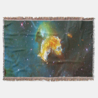 N63A Lady of the night sky Throw Blanket