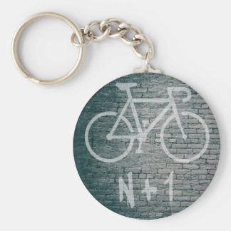N+1 Bike Graffiti Key Ring
