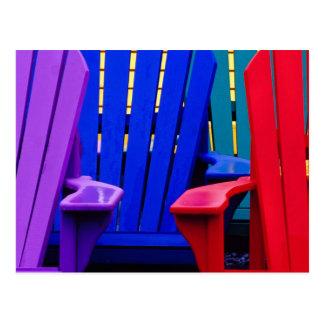 N.A. Canada, Nova Scotia, Bridgewater. Colorful 2 Postcard