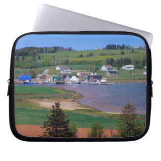 N A Canada Prince Edward Island Boats are Laptop Computer Sleeves