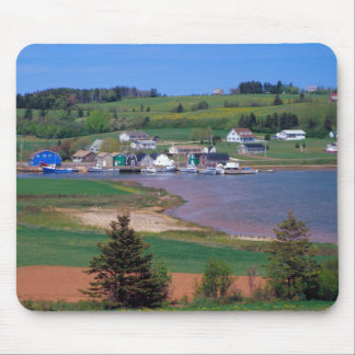 N.A. Canada, Prince Edward Island. Boats are Mouse Pad