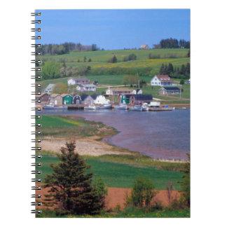 N A Canada Prince Edward Island Boats are Note Books