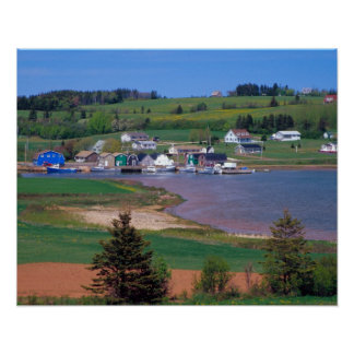 N A Canada Prince Edward Island Boats are Poster