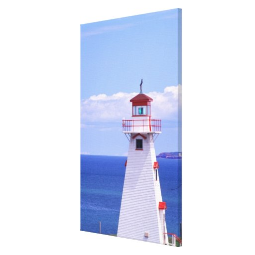 N.A. Canada, Prince Edward Island. Cape Tryon Stretched Canvas Print