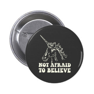N.A.U.B Not Afraid To Believe Unicorn 6 Cm Round Badge