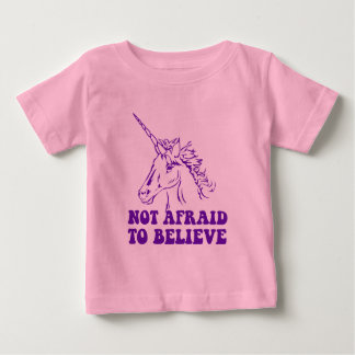 N.A.U.B Not Afraid To Believe Unicorn Baby T-Shirt