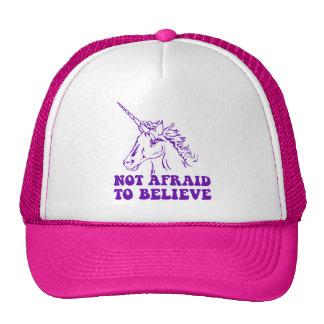 N A U B Not Afraid To Believe Unicorn Hat