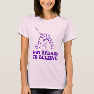 N.A.U.B Not Afraid To Believe Unicorn T-Shirt