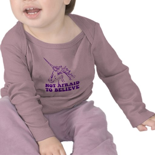 N.A.U.B Not Afraid To Believe Unicorn T-shirts