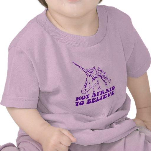 N.A.U.B Not Afraid To Believe Unicorn Tee Shirts