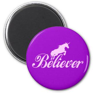 N.A.U.B Unicorn Believers 6 Cm Round Magnet