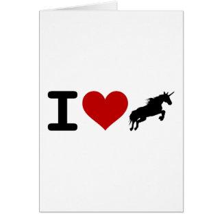 N A U B Unicorn Believers Greeting Cards