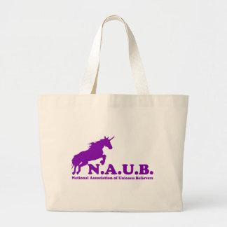 N.A.U.B Unicorn Believers Jumbo Tote Bag