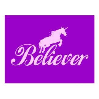 N.A.U.B Unicorn Believers Postcard
