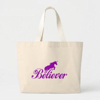N.A.U.B Unicorn Believers Tote Bags