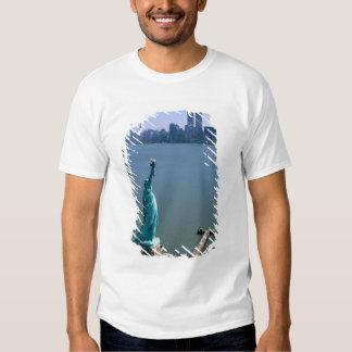 N.A., USA, New York, New York City. The Statue Tee Shirt