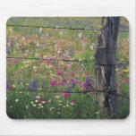 N.A, USA, Texas, Lytle, Fence post and Mouse Pad