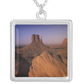 N.A., USA, Utah, Canyonlands National Park Square Pendant Necklace
