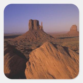N.A., USA, Utah, Canyonlands National Park Square Sticker