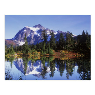 N.A., USA, Washington, Mt. Baker & Snoqualmie Postcard