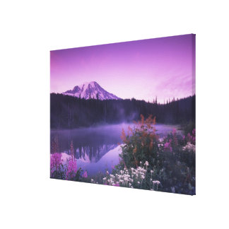 N.A., USA, Washington, Mt. Rainier National 5 Gallery Wrapped Canvas
