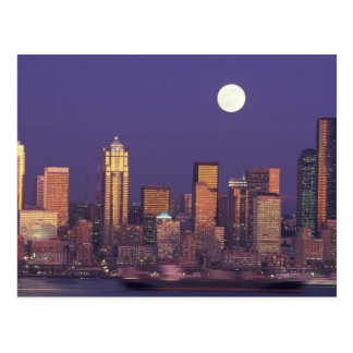 N.A., USA, Washington, Seattle Seattle skyline Postcard