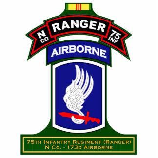 N Co, 75th Infantry Regiment - Rangers, Vietnam Standing Photo Sculpture