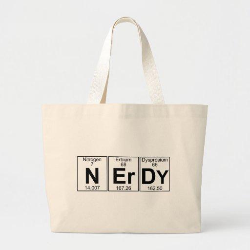 N-Er-Dy (nerdy) - Full Tote Bag