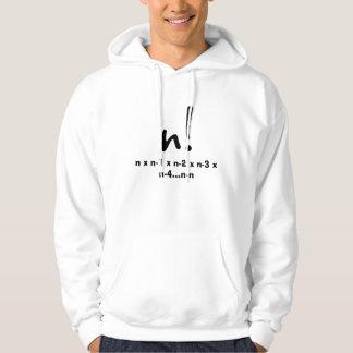 n factorial hoodie