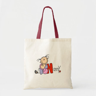 N is for Nanny Budget Tote Bag