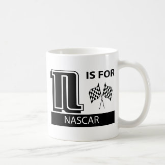 N Is For NASCAR Coffee Mugs