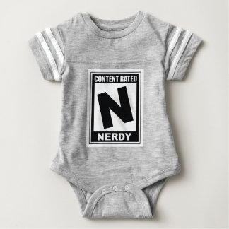 N is for Nerdy Baby Bodysuit