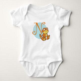 N is for Newt Baby Bodysuit