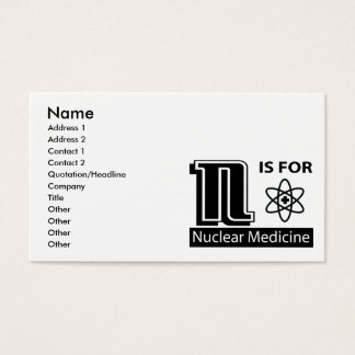 N Is For Nuclear Medicine