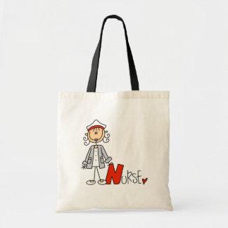 N is for Nurse Budget Tote Bag