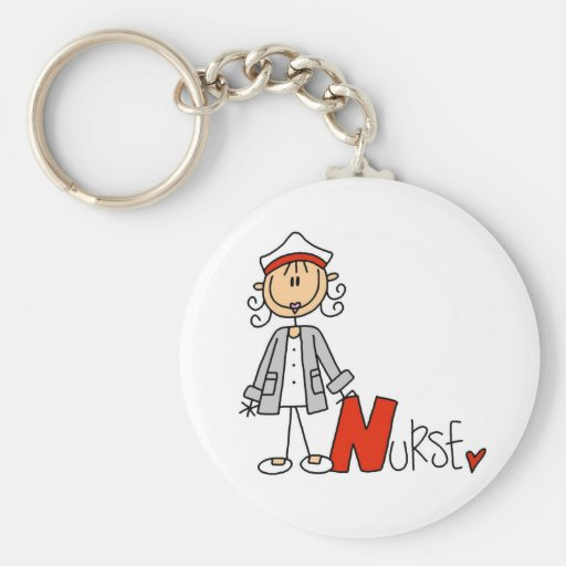 N is for Nurse Key Chains