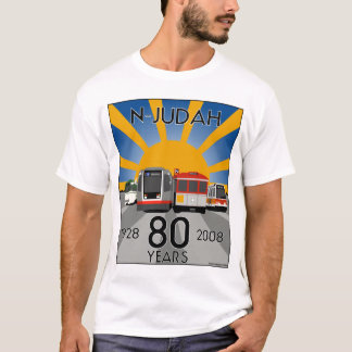 N Judah 80th Anniversary T Shirt! T-Shirt