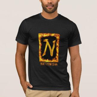 """N"" Men's Matthew 5:44 American Apparel T-Shirt"